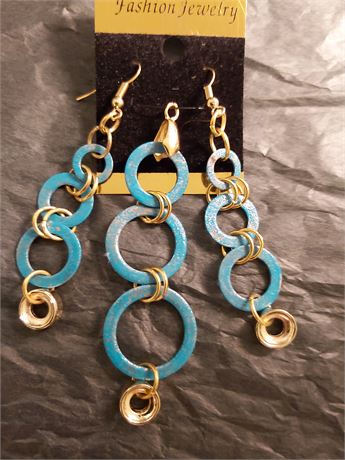 Hand Made Pendant and Earrings