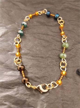 Hand Made Gold Plate Bracelet
